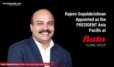 Rajeev Gopalakrishnan Appointed as President – Asia Pacific at Bata Global Group