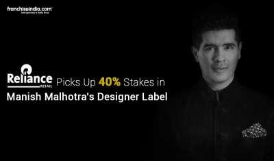 Reliance Retail Picks Up 40 pc Stakes in Manish Malhotra's Designer Label