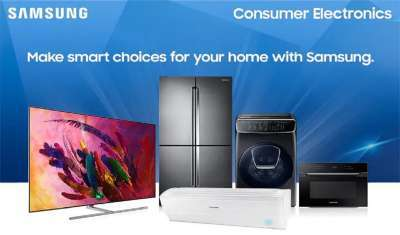 Samsung Eyes 65 pc Growth in its Premium Consumer Electronics Segment