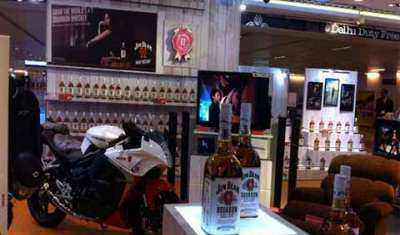 in pics: Jim Beam's stylish store at IGI airport