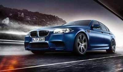 BMW unveils M5 sedan at Rs 1.35 crore