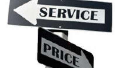 Price over Service or Vice-Versa?