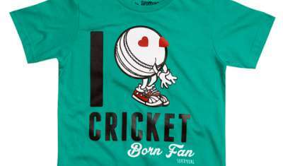 Exclusive world cup T for kids by Toonz Retail