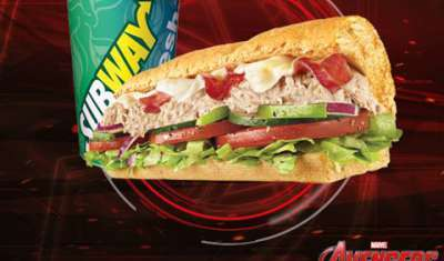 SUBWAY collaborates with Marvel Studios to promote 'Avengers: Age of Ultron'
