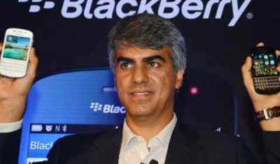 BlackBerry India head Sunil Lalvani quits India head Sunil Lalvani quits