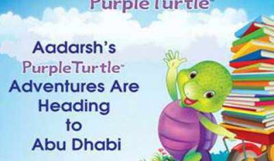 Purple Turtle heads to ABU DHABI