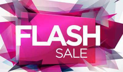 Keep Calm and Flash Your Sale