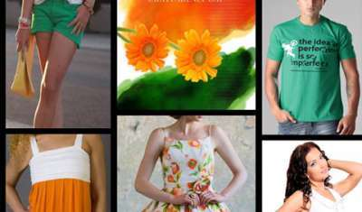 Retailers woo consumers by colours of freedom