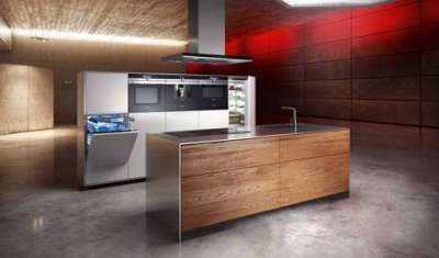 Siemens iQ700 transforms kitchen into a living room