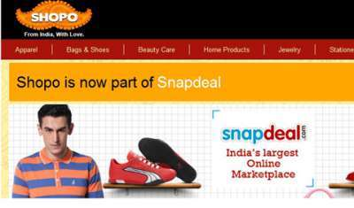 Snapdeal to invest Rs 665 crore in Shopo