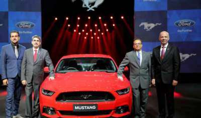 Ford Mustang's arrival to India