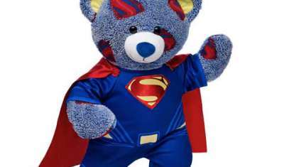 Batman and Superman Bears