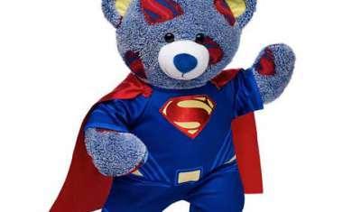 Batman and Superman Bears