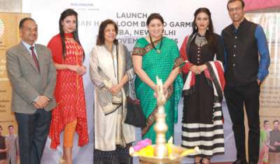 "BIBA partners with Ministry of Textiles, Govt. of India to unveil the ""India Handloom Brand"" garments at BIBA store"