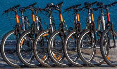 Bike renting services