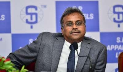 P Sundar Rajan, Managing Director, S. P. Apparels