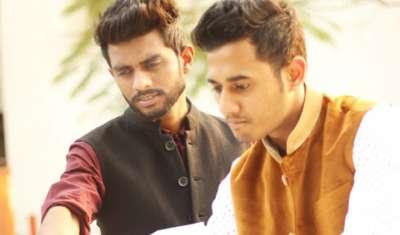 Abhishek Rawal and Vishi Porwal, founders,Indian Threads