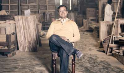 Compared to foreign Indian market has less acceptance for  handmade furniture: Ashish Gupta