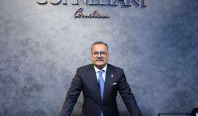 Salesh Grover, Business Head, OSL Luxury Collections Pvt. Ltd, Corneliani