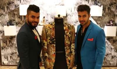 Hoping to break new grounds in men's luxury clothing